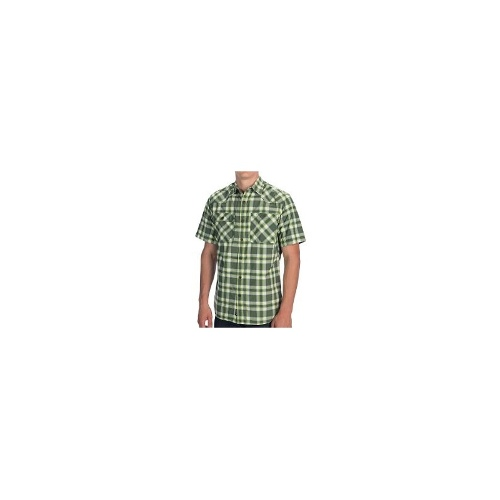Outdoor Research Growler Shirt - Short Sleeve (For Men) - CHARCOAL/HYDRO ( L )