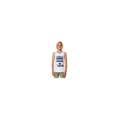 Billabong - New Boys Billabong Kids Apocalypse Singlet Size 16