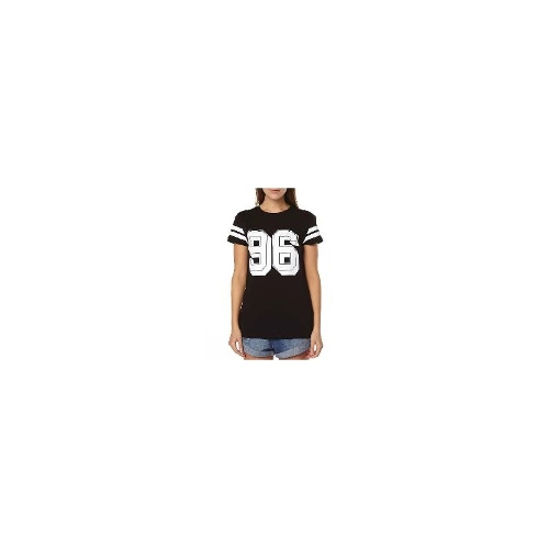 Henleys Womens Tees - New Womens Henleys Live In 96 Tee Ladies T-Shirt Top Size Extra Small