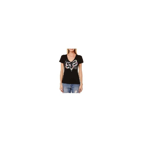 Fox Womens Tees - New Womens Fox Dimension Tee Ladies T-Shirt Top Size Extra Large