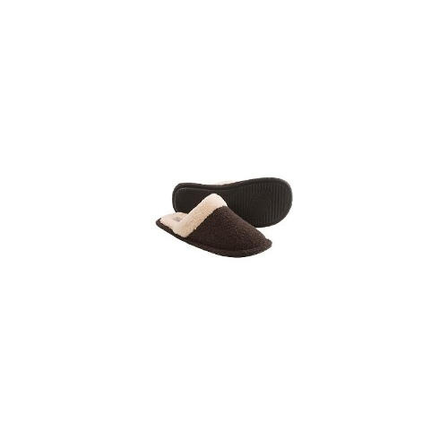 Daniel Green Joy Slippers - Boiled Wool (For Women) - CHOCOLATE ( S )