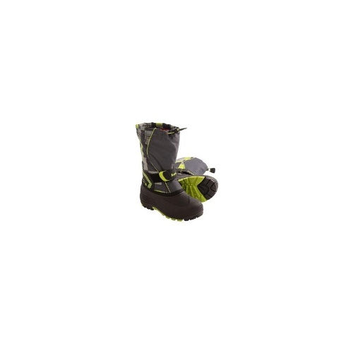Kamik Snowbank2 Winter Boots - Waterproof (For Kids) - CHARCOAL ( 9 )