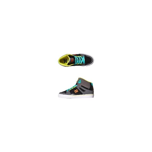 Dc Shoes Boys Shoes - New Boys Dc Shoes Kids Spartan High Se Shoe Size 6