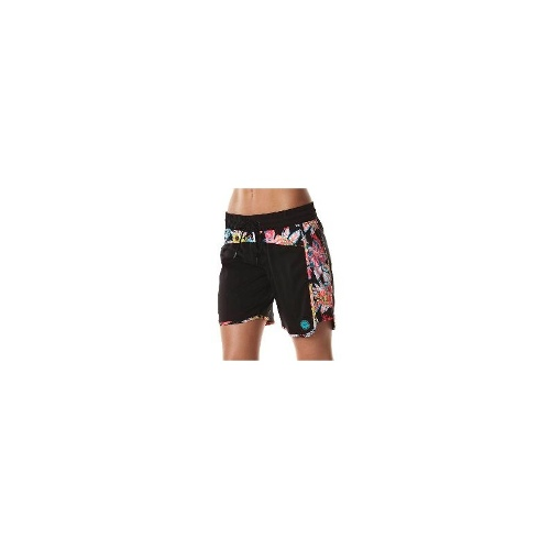 Roxy Womens Boardshorts - New Womens Roxy Wild Tropics 9 Boardshort Ladies Short Size Extra Small