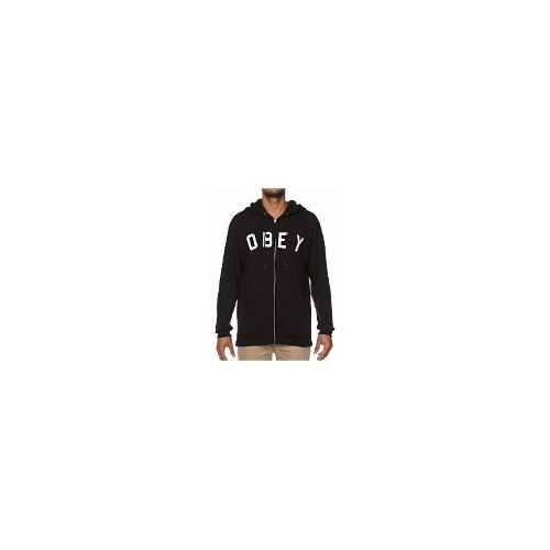 Obey - Obey Core Zip Hoodie Size Extra Large