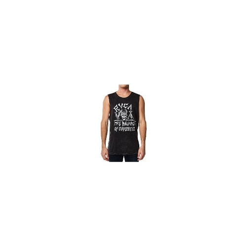 Rvca - New Mens Rvca Balance Of Opposite Muscle Tank T-Shirt Singlet Size Medium