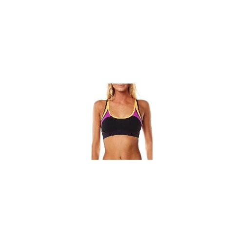 Rip Curl Womens Gym Sports Bras - New Womens Rip Curl Active Crop Top Ladies Sports Bra Size 10