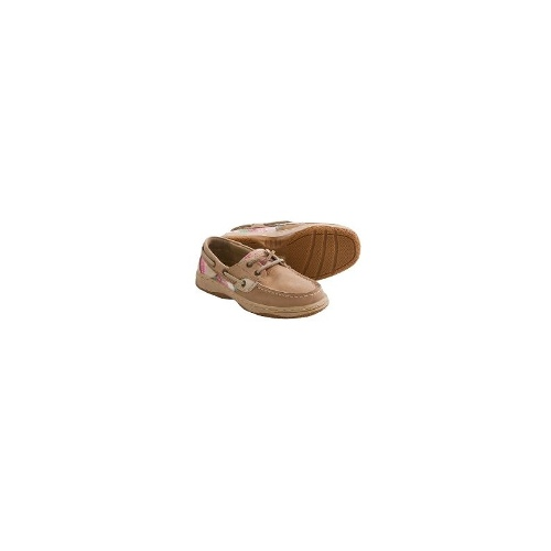 Sperry Top-Sider Bluefish Boat Shoes - Nubuck (For Kids) - LINEN ( 13 )