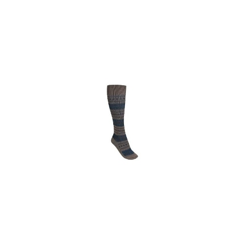 Woolrich Sweater-Knit Knee-High Socks - Merino Wool, Over-the-Calf (For Women) - LIGHT TAUPE ( M/L )