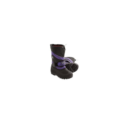 Kamik Icefort Winter Boots - Waterproof (For Kids) - PURPLE ( 12 )