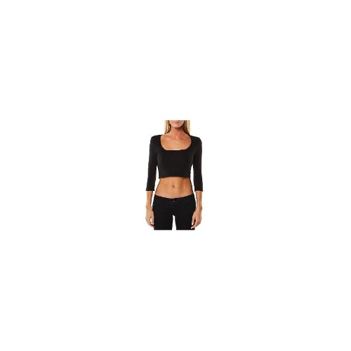 Minkpink - New Womens Minkpink Square Neck Crop Top Ladies T-Shirt Top Size Extra Small