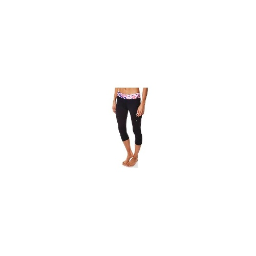 Rip Curl Womens Gym Tights - New Womens Rip Curl Active Crop Legging Ladies Sports Pants Tights Size 14