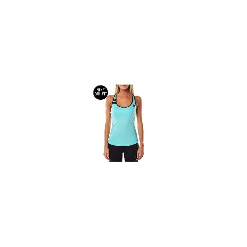 Hurley Womens Gym Singlets - New Womens Hurley Dri Fit Tank Top Ladies Singlet Top Size Large