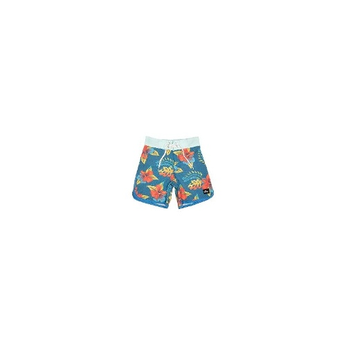 Quiksilver Baby Boys Boardshorts - New Kids Quiksilver Tots Scallop Prints 11 Boardshort Toddler Boys Shorts Size 5