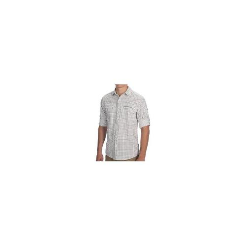 Craghoppers NosiLife Check Shirt - UPF 40+, Long Roll-Up Sleeve (For Men) - GRANITE COMB ( XL )