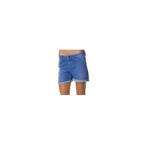 Riders By Lee - New Riders By Lee Bumster Mid Thigh Roll Up Short Womens Denim Short Size 7