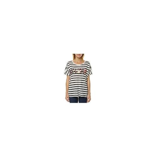 Sass Womens Tees - New Womens Sass Bonjour Womens Stripe Tee Ladies T-Shirt Top Size 6