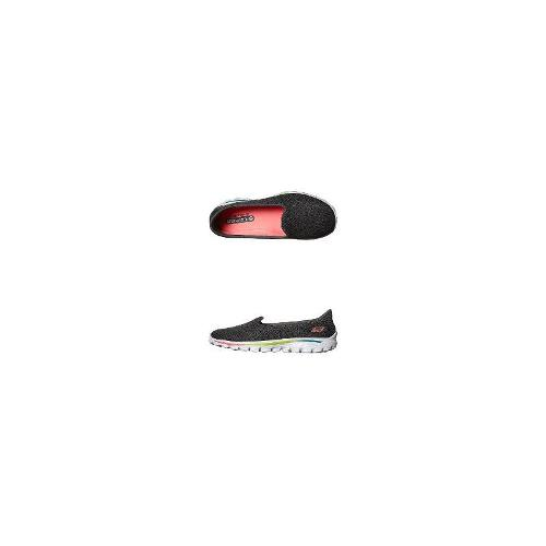 Skechers Girls Shoes - New Girls Skechers Kids Go Walk 2 Axis Flat Size 3