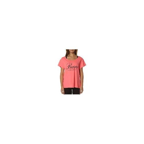 Running Bare Womens Gym Tops - New Womens Running Bare Diane Classic Boyfriend Box Tee Size 16