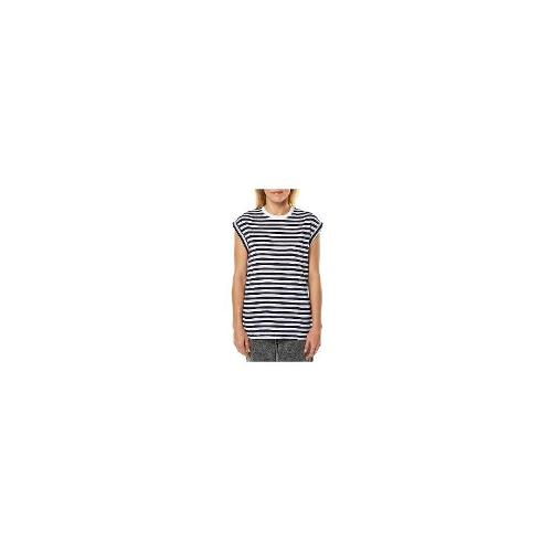 Silent Theory Womens Tees - New Womens Silent Theory Flume Stripe Womens Tee Ladies T-Shirt Top Size 12