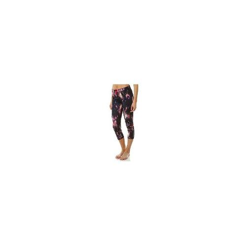 Roxy Womens Gym Tights - New Womens Roxy Showdown Capri Ladies Sports Pants Tights Size Extra Large