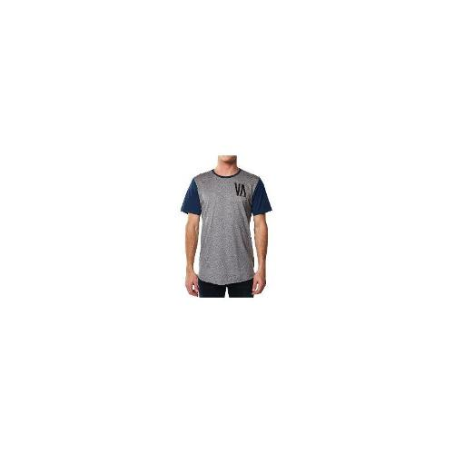 Rvca - New Mens Rvca Two Tone Vee Aye Tee T-Shirt Top Size Large
