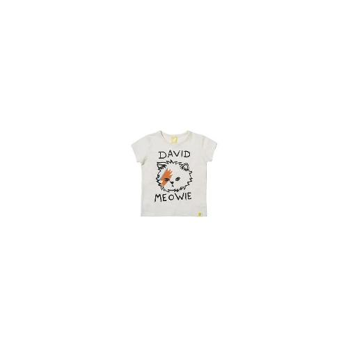 Rock Your Baby - New Kids Rock Your Baby Tots David Meowie Tee Toddler Boys T-Shirt Top Size 5