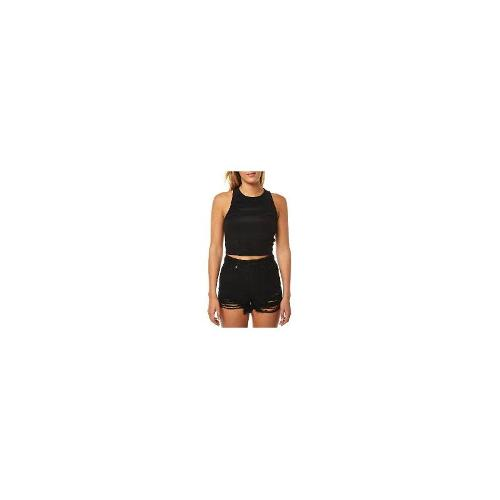 Minkpink - New Womens Minkpink Racer Back Crop Top Ladies T-Shirt Top Size Extra Small