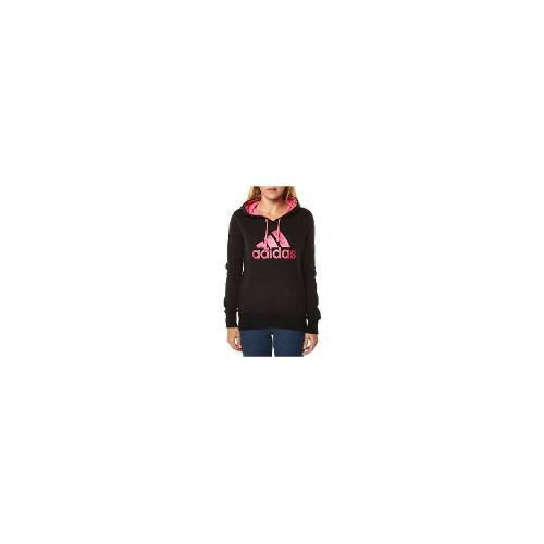 Adidas - New Adidas Womens Training Essentials Logo Hood Fleece Size Large