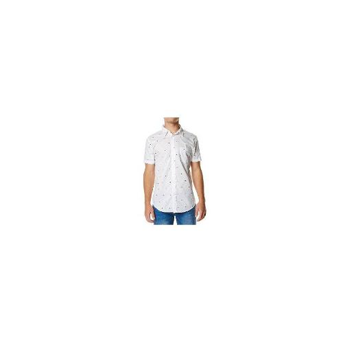 Assembly - New Mens Assembly Origami Ss Shirt Size Extra Large