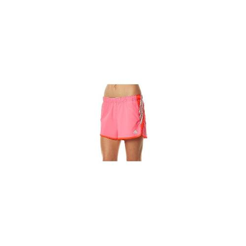 Adidas Womens Gym Shorts - New Adidas Women's Womens Training Summer 3S Short Fitness Sport Pink Size Small