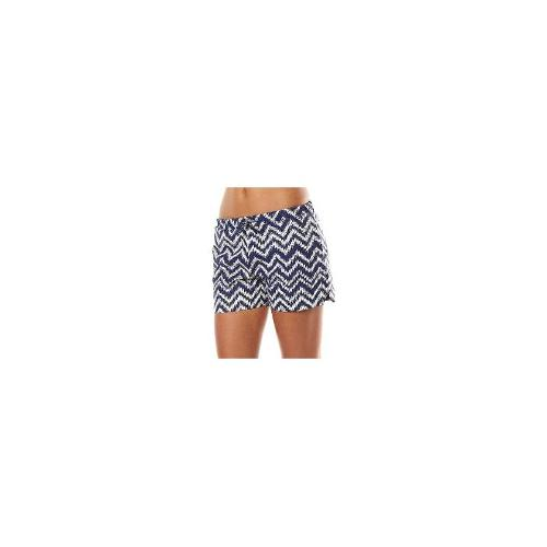 Vanishing Elephant - New Vanishing Elephant Women's Athletic Short Cotton Blue Size 6