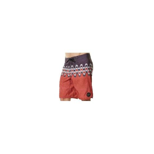 Reef Mens Board Shorts - New Reef Men's Rio Boardshort Fitted Swimwear Red Size 36
