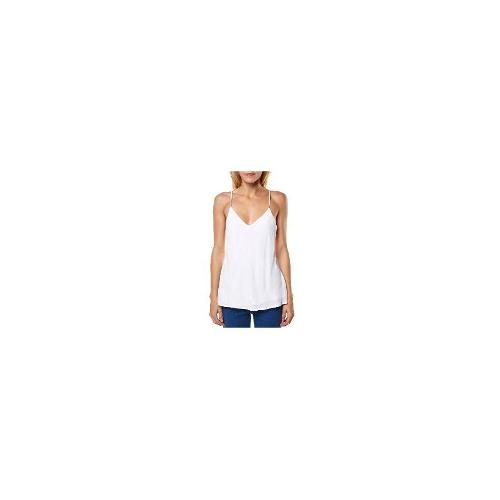 Tigerlily Womens Tops - New Tigerlily Women's Evangelie Cami V-Neck White Size 12