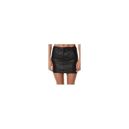 G-star Raw - New G-Star Raw Women's Mae Long Leather Mini Skirt Leather Black Size Small