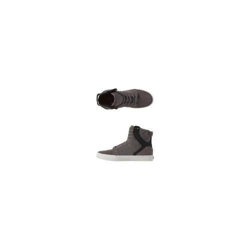 Supra Womens Hi Top Shoes - New Supra Women's - Skytop Hi Tops Suede Shoes Grey Size 40
