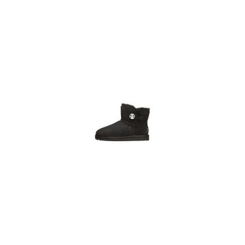 Ugg - New Ugg Women's Women's Mini Bailey Button Bling Boots Black Size 39