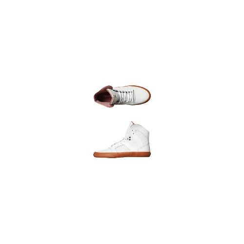 Supra Hi Top Shoes - New Supra Men's Pilot Hi Shoe Rubber Shoes White Size 10