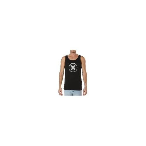Hurley - New Hurley Men's Dri-Fit Block Party Singlet Cotton Vests Black Size Large