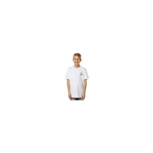 O'neill - New O'neill Boys Kids Boys Willy Brown Flash Tee Cotton Toddler Children White Size 12
