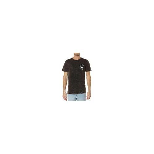 Rip Curl - New Rip Curl Men's Search Vibes Tee Crew Neck Cotton T-Shirt Black Size Medium