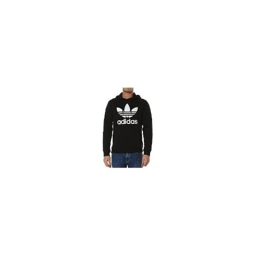 Adidas Originals - New Adidas Originals Men's Raglan Trefoil Hoody Crew Neck Cotton Hoodie Black Size XXL