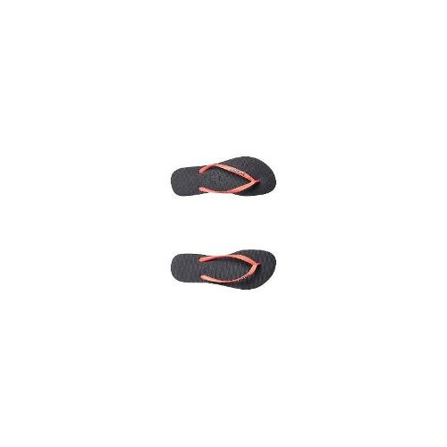 Havaianas Womens Thongs - New Havaianas Women's Slim Metal Logo Thong Rubber Shoes Size 39/40
