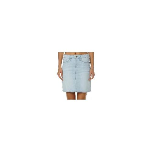 Mavi - New Mavi Women's Alice Mid Rise Womens Skirt Cotton Jeans Blue Size Large