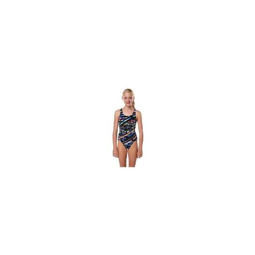 Rival - New Rival Girls Kids Girls Bauhaus Bridgeback One Piece Toddler Children Size 10