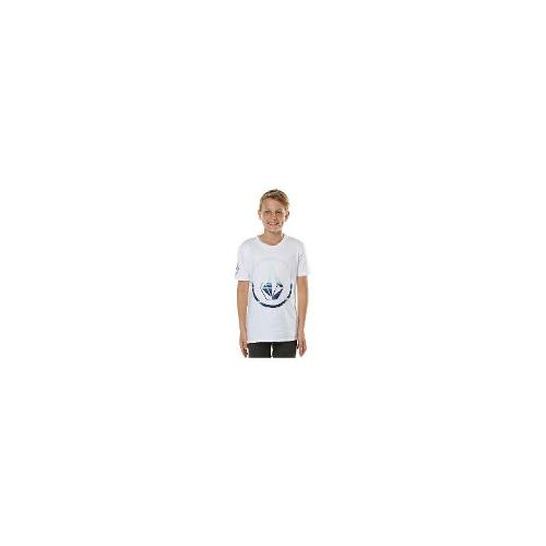 Volcom - New Volcom Boys Kids Boys Chesticle Tee Cotton Toddler Children White Size 16