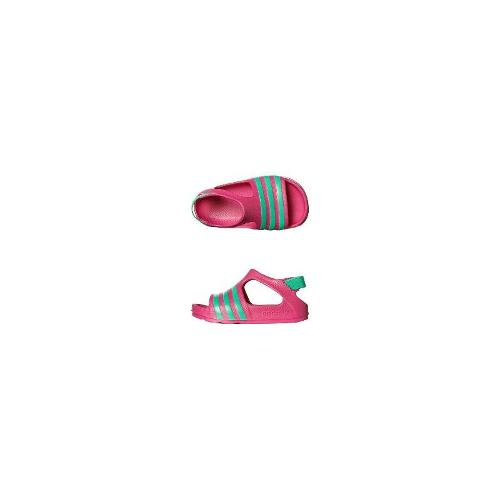 Adidas Originals Girls Shoes - New Adidas Originals Girls Tots Adilette Play Thong Rubber Shoes Pink Size 6