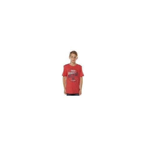 Mossimo - New Mossimo Boys Kids Boys The Realness Tee Cotton Toddler Children Red Size 14
