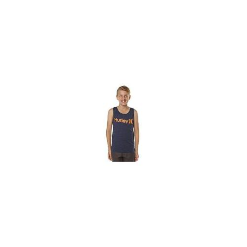 Hurley - New Hurley Boys Kids Boys One And Only Singlet Cotton Toddler Children Blue Size 14