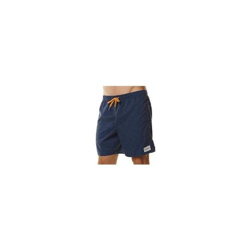 Rhythm - New Rhythm Men's My Jam Mens Beach Short Cotton Shorts Bermudas Blue Size 30